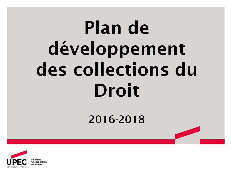 PDC Droit 2016-2018